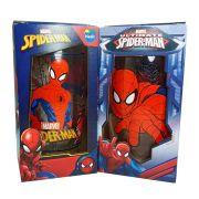 Conjunto com 2 Copos Marvel Spider-Man Homem Aranha 430ml