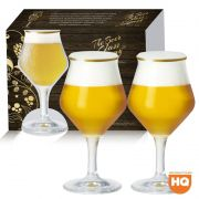 Conjunto de Taça de Cristal para Cerveja Beer Sommelier 02 peças