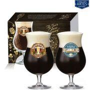 Conjunto de Taça de Cristal para Cerveja Double Bock 2 pcs