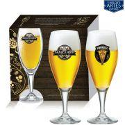 Conjunto de Taça de Cristal para Cerveja Gourmet M 400ml 2 peças