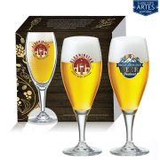 Conjunto de Taça de Cristal para Cerveja Gourmet M de 400ml 2 pcs
