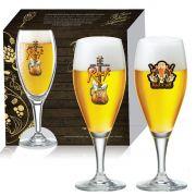 Conjunto de Taça de Cristal para Cerveja Gourmet M de 400ml