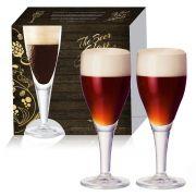 Conjunto de Taça de Vidro para Cerveja Harzer de 415ml 02 peças