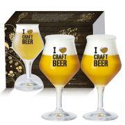 Conjunto de Taça para Cerveja Beer Sommelier 435ml 2 pçs