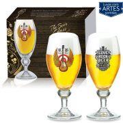 Conjunto de Taça para Cerveja Continental de 385ml