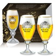 Conjunto de Taça para Cerveja Continental de 400ml