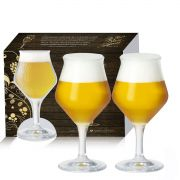 Conjunto de Taças de Cristal para Cerveja Beer Sommelier de 430ml