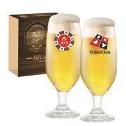 Conjunto de Taças de Vidro para Cerveja Barcelona de 300ml
