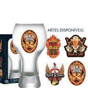 Copo Cerveja de Vidro Black Rock Collection 380ml