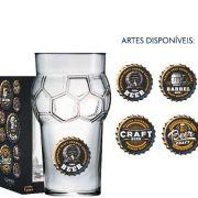 Copo Cerveja de Vidro Futebol Beer Collection 580ml