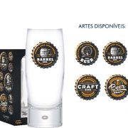Copo Cerveja de Vidro Strange LD Beer Collection 300ml