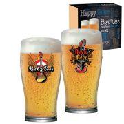 Copo de Cerveja Luva Rock Collection Pint 568ml - 2 Peças