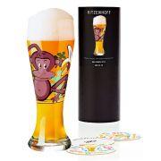 Copo de Cerveja Vidro Ritzenhoff Wheatbeer Glass Formfindung 2009 500ml