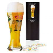 Copo Cerveja Vidro Ritzenhoff Wheatbeer Glass Djamila  Fierek 2010 500ml