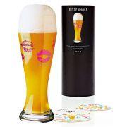 Copo de Cerveja Vidro Ritzenhoff Wheatbeer Glass  Nicole Winter 2010 500ml