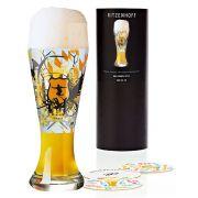 Copo de Cerveja Ritzenhoff Wheatbeer Glass  Ruth Berktold 2010 500ml