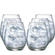 Copo de vidro Emerald Água 350ml 6 pcs