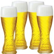 Copos De Cerveja - Weiss Schachen De 710m C/ 4 Unid