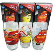 Jogo Conjunto Copos Disney Carros 3 Lightning 95 3 pcs