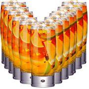 Jogo Copo Água Vidro Suco Long Drink Vidro Kit Strang 12 Pcs