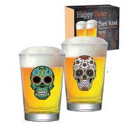 Jogo de Copo de Cerveja Mexican Style Caldereta 350 ml 2 Pcs