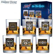 Jogo de Copo de Whisky Prestige 320ml - 6 Peças