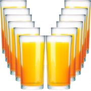 Jogo de Copos de Água Vidro Long Drink Multiuso 12 Pcs