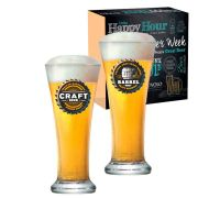 Jogo de Copos de Cerveja HH Pilsen 275ml 2 Pcs