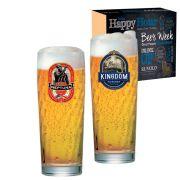 Jogo de Copos de Cerveja HH Zurich M 320 ml 2 Pcs