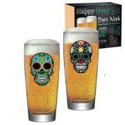 Jogo de Copos de Cerveja Mexican Style Prime M 300ml 2 Pcs