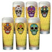Jogo de Copos de Cerveja Mexican Style Zurich M 320 ml 6 Pcs