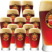 Jogo de Copos de Cerveja Vidro Baden Baden Red Ale 410ml 12 Pcs