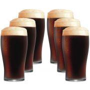 Jogo de Copos de Cerveja Vidro Pint IPA 568ml 6 Pcs
