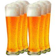 Jogo de Copos de Cerveja Weiss Polite G 685ml 6 Pcs