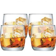 Jogo de Copos de Whisky New York On The Rocks 225ml 4 Pcs