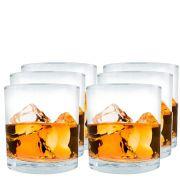 Jogo de Copos de Whisky Prestige On The Rocks 6 Pcs