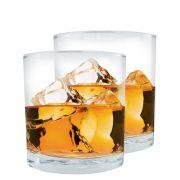 Jogo de Copos de Whisky Vidro Mirage 2 Pcs