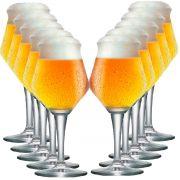 Jogo de Taça de Cerveja Crista Beer Sommelier Alta 460ml 12 Pcs