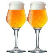 Jogo de Taça de Cerveja Crista Beer Sommelier Alta 460ml 2 Pcs