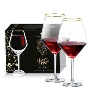 Jogo de Taça de Cristal para Vinho Tinto Elegance de 775ml 2 pçs