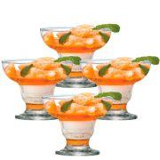 Jogo de Taça de Sobremesa Cancun 300ml 4 Pcs