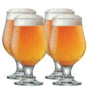 Jogo de Taças de Cerveja Beer Master 380ml 4 Pecas