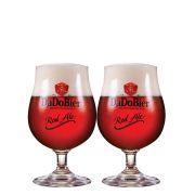 Jogo de Taças de Cerveja Cristal Dado Bier Red Ale 400ml 2 Pcs