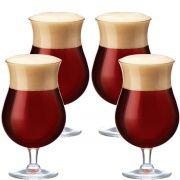 Jogo de Taças de Cerveja Cristal Double Bock 645ml 4 Pcs