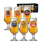 Jogo de Taças de Cerveja HH Barcelona 370 ml 6 Pcs