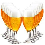 Jogo de Taças de Cerveja Holsten Crystal 400ml 12 Pcs