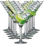 Jogo de Taças de Martini Vidro 265ml 12 Pcs