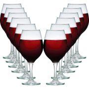 Jogo de Taças de Vinho Bordeaux One 600ml 12 Pcs