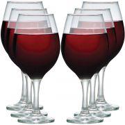 Jogo de Taças de Vinho Bordeaux One 600ml 6 Pcs