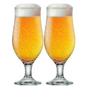 Jogo Taças Cerveja Conjunto Royal Beer 330ml Kit 2 Peças